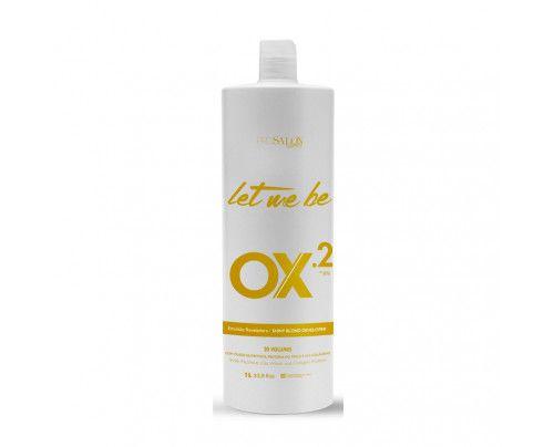 Let Me Be - Água Oxigenada Ox 20 Volumes Emulsão Reveladora (900ml)