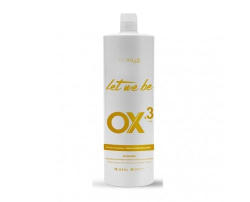 Let Me Be - Água Oxigenada Ox 30 Volumes Emulsão Reveladora (900ml)