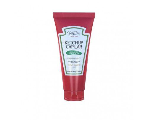 Portier - Ketchup Capilar Máscara de Fixação da Cor (250g)