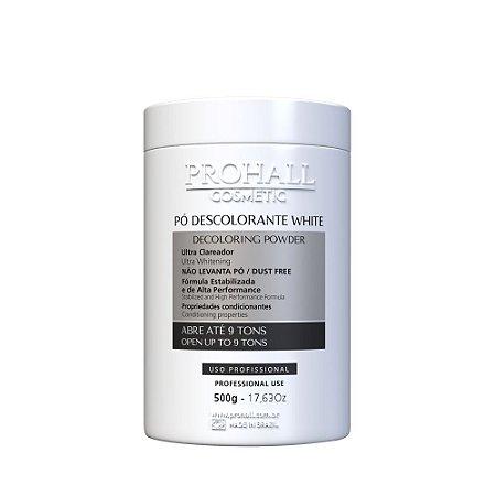 Prohall - Pó Descolorante Branco Ultra Clareador Abre até 9 tons (500g)