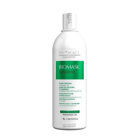Prohall - Shampoo Ultra hidratante Biomask Brilho intenso 1 litro