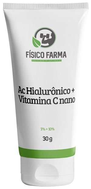 ÁCIDO HIALURÔNICO + VITAMINA C NANO 30g