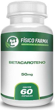 Betacaroteno 50mg Cápsulas 60 Cápsulas