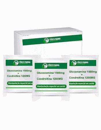 Glucosamina + Condroitina 30 Sachês Sabor Laranja