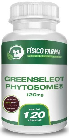 Greenselect Phytosome 120mg 120 Cápsulas
