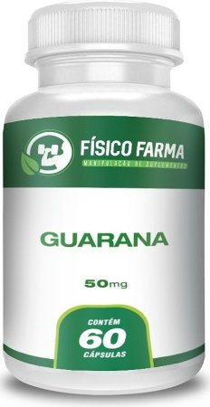 GUARANÁ 500mg 60 Cápsulas
