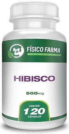 HIBISCO 500mg 120 Cápsulas
