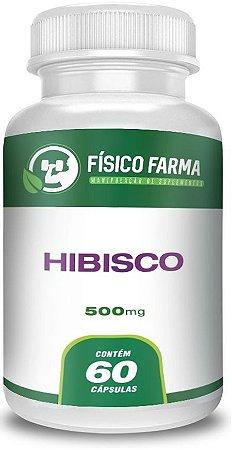 HIBISCO 500mg 60 Cápsulas
