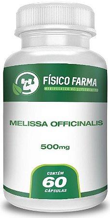 Melissa Officinalis 500Mg 60 Cápsulas
