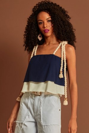 Cropped Duo Crepe