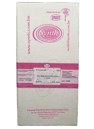 Bicarbonato de sódio USP 100% puro 1Kg Synth