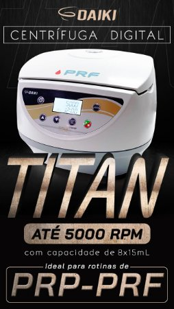 Centrífuga Spinplus Titan 5.000 RPM PRP/ PRF 110 volts Daiki