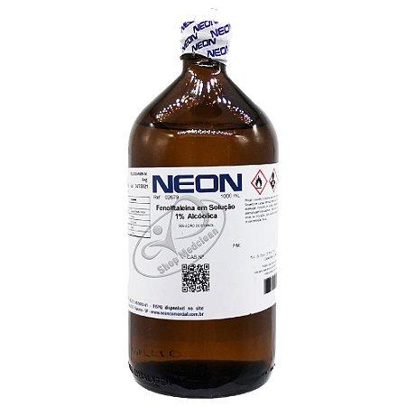 Fenolftaleína Solução Alcóolica a 1% 1Lt Neon