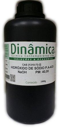 Hidróxido de Sódio Microperolas PA 1KG Dinamica