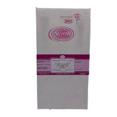 Sulfato Magnésio U.S.P ( Sal Amargo) Synth Fr. 1 Kg