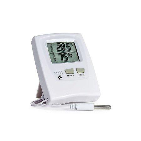 Termo Higrômetro Digital Temperatura e Umidade Interna 7666