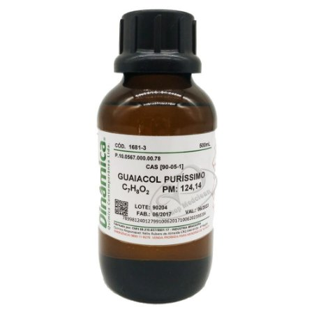 Guaiacol puro 500ml Dinamica