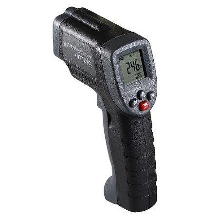 Termômetro Infravermelho -50 a +550ºC Com Mira Laser TI-55 - Simpla