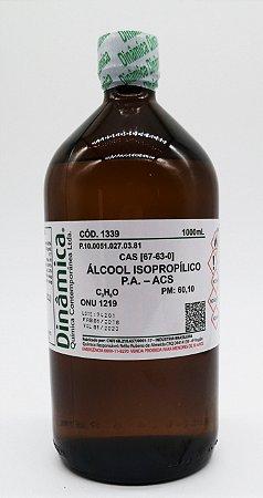 Alcool Isopropilico PA ACS 1000ML Dinamica