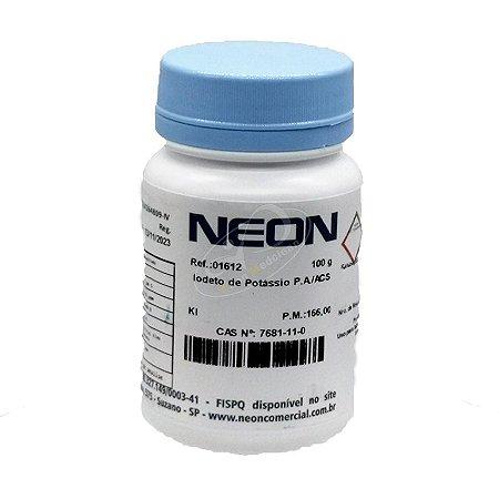 Iodeto de Potássio PA ACS 100G Neon