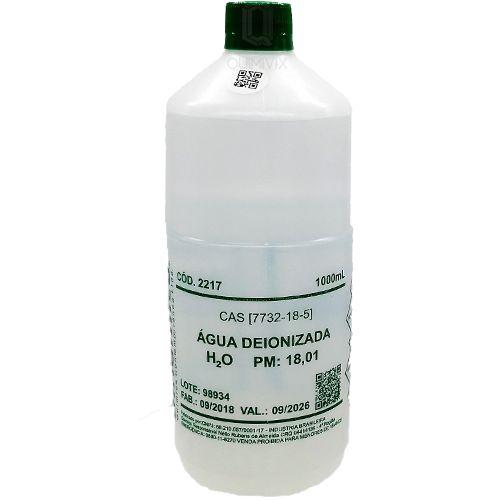 Agua Deionizada desmineralizada 1lt Dinamica