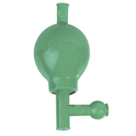 Pipetador 3 vias em PVC Esfera de polipropileno