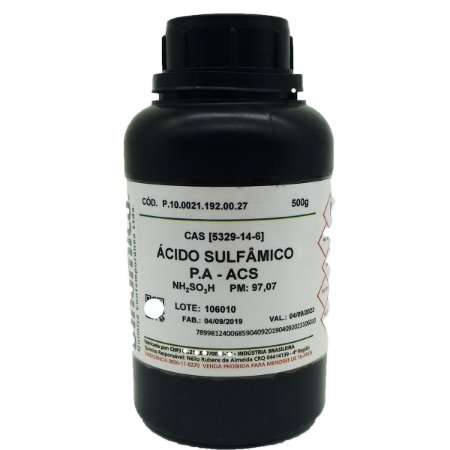 Acido Sulfamico PA 500g Dinamica