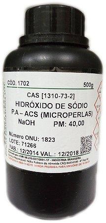 Hidróxido de Sódio Microperolas PA ACS 500Gr Dinamica