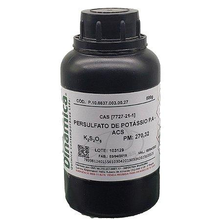 Persulfato De Potassio PA 500Gr Dinamica