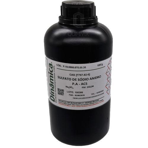Sulfato Sodio Anidro PA ACS 1 KG Dinamica