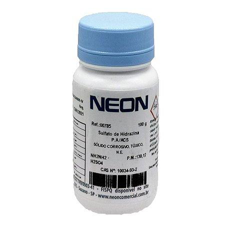 Sulfato Hidrazina PA 100Gr Neon