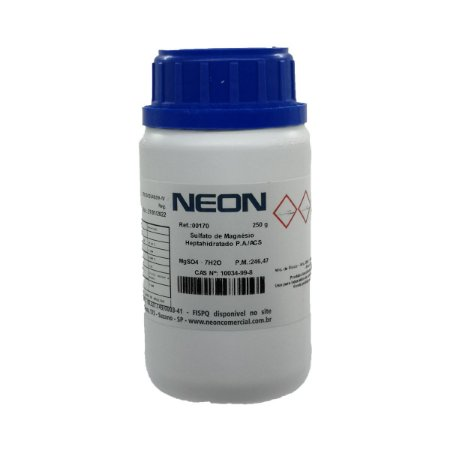 Sulfato Magnesio Heptahidratado P.A./ACS 250Gr Neon