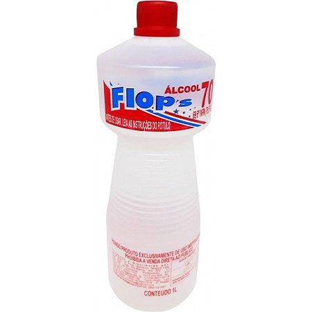 Álcool líquido 70% de 1 litro