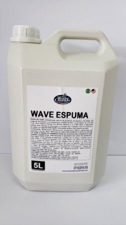 Wave Espuma detergente alcalino concentrado 5 litros 1:50