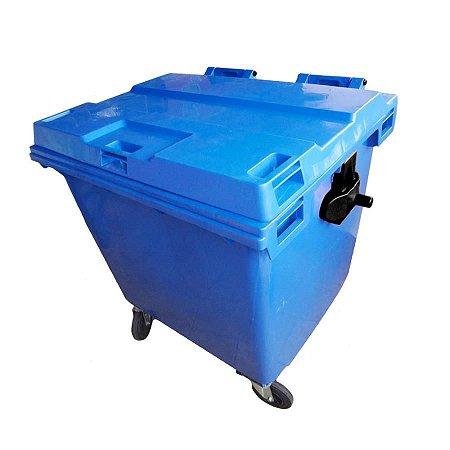 Container plástico de 660 litros e 1.000 litros (sob encomenda)