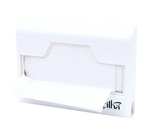 Suporte para caixinha de refil de assento sanitário