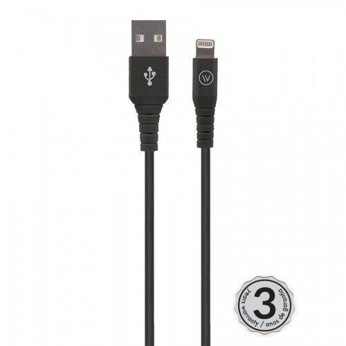 Hard Cable Black Nylon - 1,2M iWill