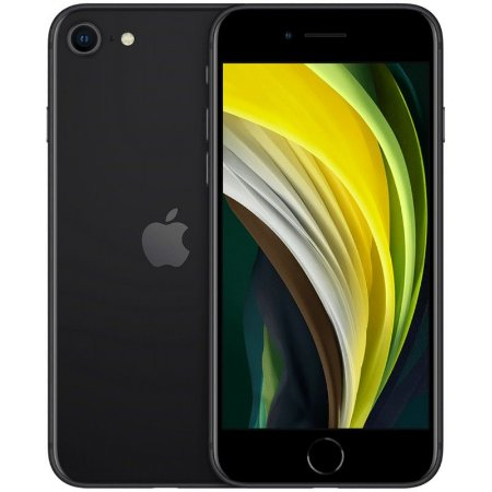 Apple iPhone SE 64GB MX9N2LL A2275 Black (2020)