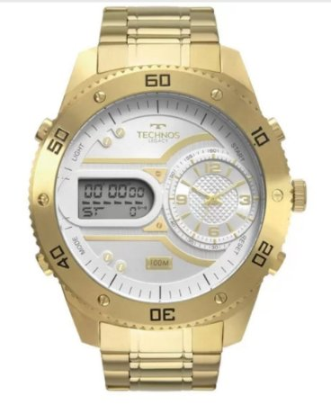 RelógioTechnos Legacy Dourado Masculino - 2039CB/4X