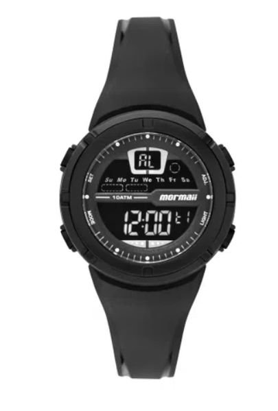 Relógio Mormaii NXT Infantil Preto Unissex - MO2600AA/8P