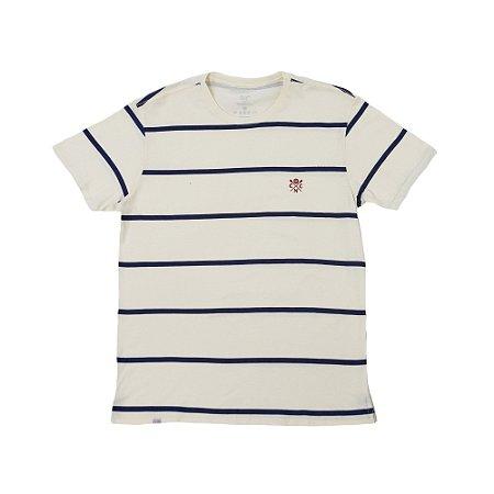 Camisa Náutico Timbushop -  Remos Bordado - Listras - Masculina