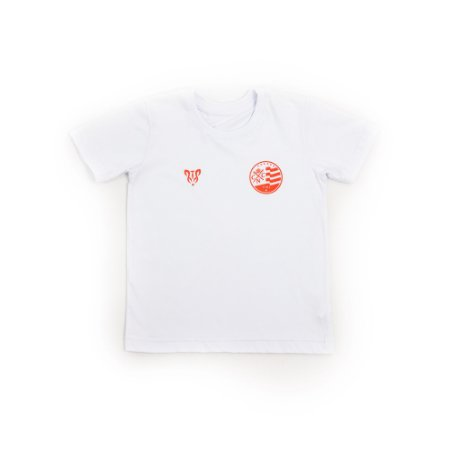 Camisa Náutico Timbushop - Escudo Atual Alto Relevo - Infantil