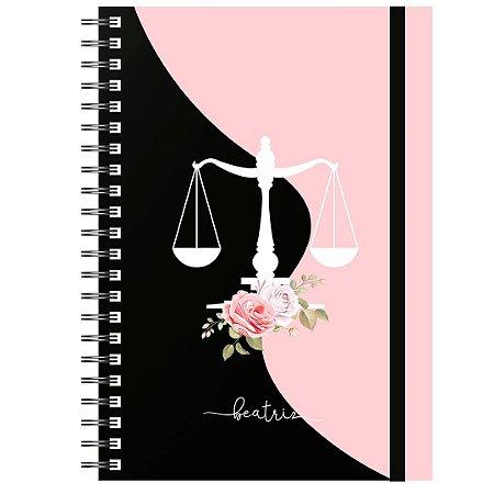 Planner Permanente : Símbolo Preto/Rosa