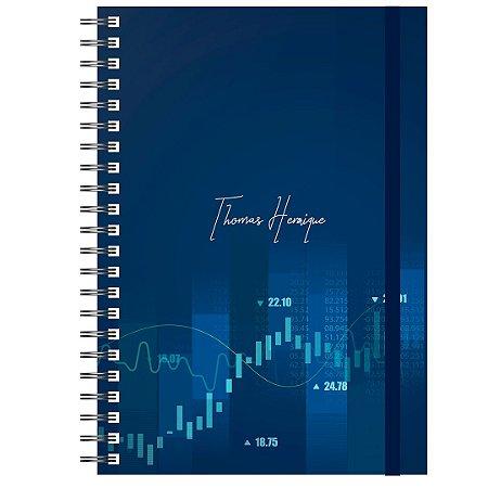 Planner Permanente Masculino: Trader Financeiro