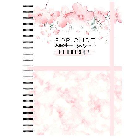 Caderno A5 : Floresça