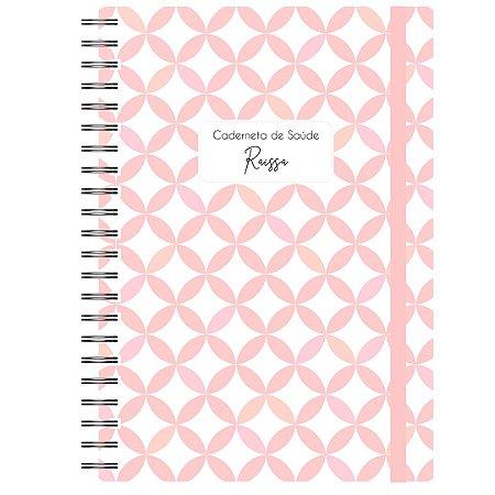 Caderneta de Saúde - Geométrico Rosa