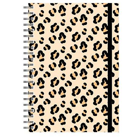 Caderno A5 : Estampa Onça