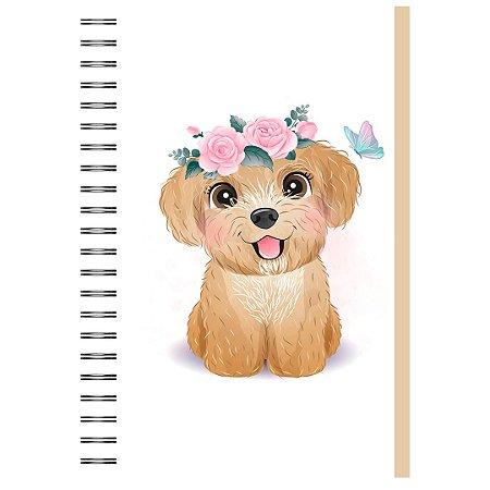Caderno A5 : Poodle