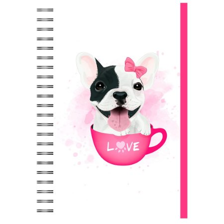 Caderno A5 : Bulldog Francês