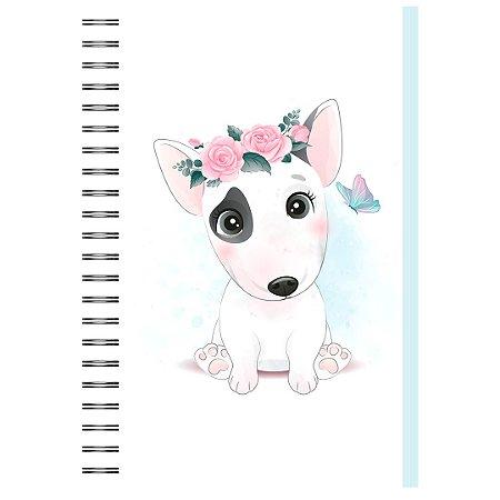 Caderno A5 : Bull Terrier